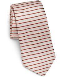Armani Striped Tie - Lyst