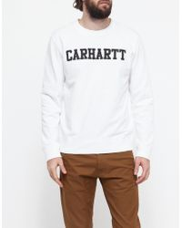 Need Supply Co. College Sweatshirt white - Lyst