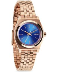 Nixon - 'the Small Time Teller' Watch - Lyst