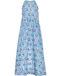 Suno Mo Exclusive Daisyprint Cotton Halter Dress - Lyst