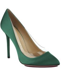 Charlotte Olympia Satin Party Shoe - Lyst
