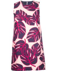 Mother Of Pearl Palm Print Franklin Shift Dress - Lyst