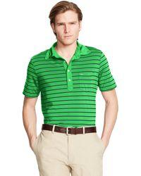 Ralph Lauren Striped Pocket Polo Shirt - Lyst