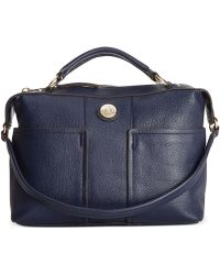 Tommy Hilfiger T Group Pebble Leather Convertible Duffle - Lyst