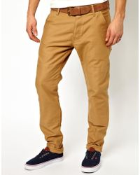G-star Raw G Star Straight Fit Chinos - Lyst