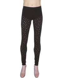 Pima Doll - Perforated Legging - Lyst
