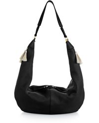 The Row Sling Hobo Bag With Tassels - Lyst