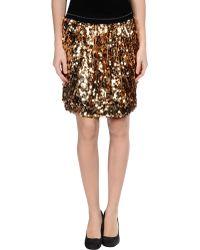 Marco Bologna Sequin Skirt - Lyst