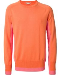 Marc Jacobs Colour Block Sweater - Lyst