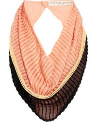 Finds - + Mignonne Gavigan Embellished Silk-Chiffon Scarf Necklace - Lyst
