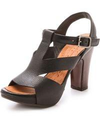 Chie Mihara Ainara Heeled Sandals - Black - Lyst
