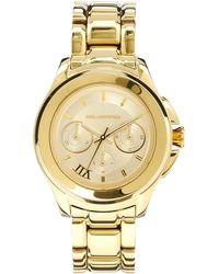 Karl Lagerfeld Chronograph Watch - Lyst