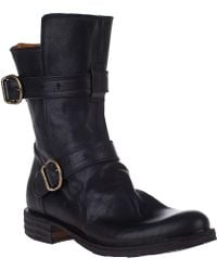 Fiorentini + Baker Eternity 713 Mid-Shaft Boot Black Leather - Lyst
