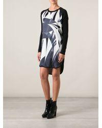 Emilio Pucci Printed Panel Dress - Lyst