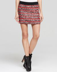 Milly Skirt - Couture Tweed Mini - Lyst