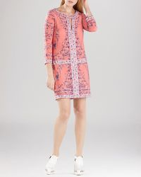 BCBGMAXAZRIA Dress - Calico Printed Shift - Lyst
