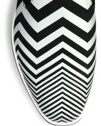 Nicholas Kirkwood - Leather Zigzag Slipons - Lyst