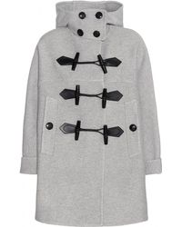 Burberry Brit - Anbridge Wool And Cashmere Duffle Coat - Lyst