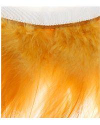 Victoria Beckham - Feather Collar - Lyst