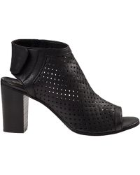 275 Central Perforated Bootie Black Leather - Lyst