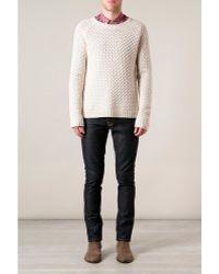 Nudie Jeans  Grim Tim Organic Dry Navy Jeans - Lyst