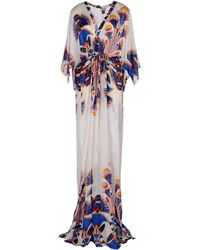 Issa Multicolor Long Dress - Lyst