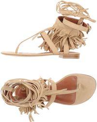 Alberta Ferretti | Thong Sandal | Lyst