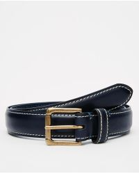 Racing Green - Leather Belt - Lyst