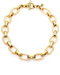 Michael Kors Mixedlink Chain Necklace - Lyst