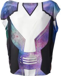 The Textile Rebels - Abstract Print Blouse - Lyst