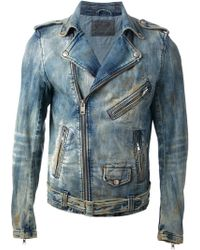 Diesel B Denim Jacket - Lyst