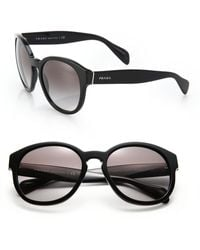 Prada 56Mm Square Sunglasses - Lyst