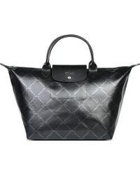 Longchamp Lm Metal Medium Handbag - Lyst