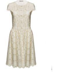 Alice + Olivia Alisha Lace Dress - Lyst