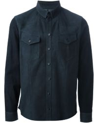 Neil Barrett Shirt - Lyst