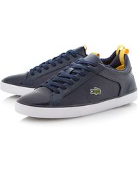 Lacoste Ventron Nal Lace Up Logo Trainers - Lyst