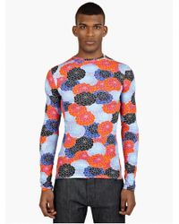 Raf Simons Men'S Long-Sleeved Cotton T-Shirt - Lyst
