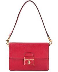 Dolce & Gabbana Rosalia Leather Shoulder Bag - Lyst