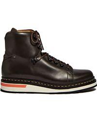 OAMC - Men's Karakoram Boots In Dark Brown - Lyst
