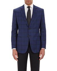 Giorgio Armani | Plaid Taylor Two-button Sportcoat | Lyst