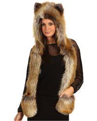 Spirit Hoods Red Fox - Lyst