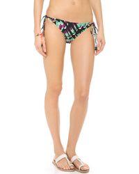 Shoshanna Villa Belrose Bikini Bottoms - Lyst
