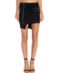 Hudson Kink Asymmetrical Skirt - Lyst