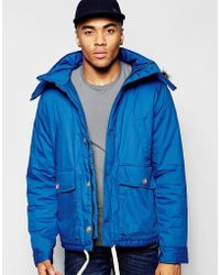 Native Youth - Arctic Parka Jacket With Curved Hem - Lyst