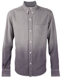 Band Of Outsiders Ombre Dyed Shirt - Lyst