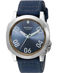 Nixon The Ranger 45 Nylon blue - Lyst