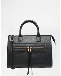 ASOS | Zip Pocket Tote Bag | Lyst