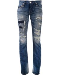 Hysteric Glamour - Slim Straight Jeans - Lyst
