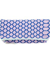 Sophie Anderson Large Fold-Over Zip Clutch - Lyst