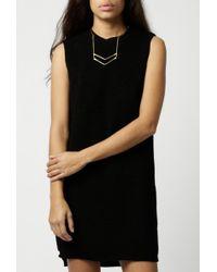 Native Youth | Longline Knit Tunic Dress | Lyst
